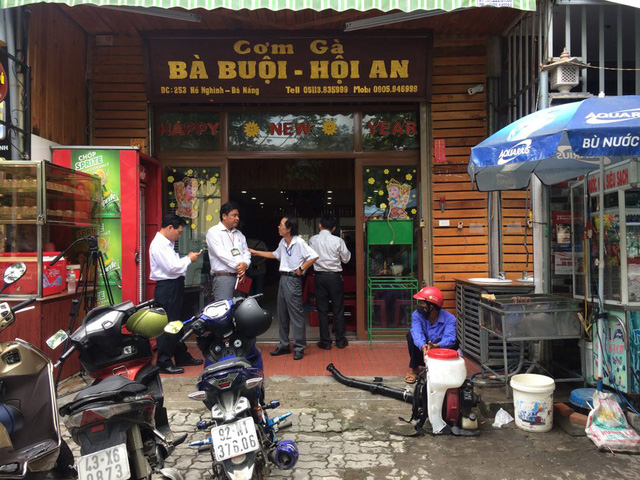 Quán cơm gà Bà Bụi, nơi xảy ra vụ việc. Ảnh: Tâm Trí