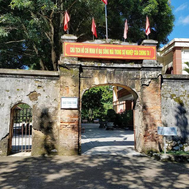 Bảo tàng tỉnh Sơn La nơi xảy ra vụ việc bị người dân khiếu nại. Ảnh: Đ.Phong