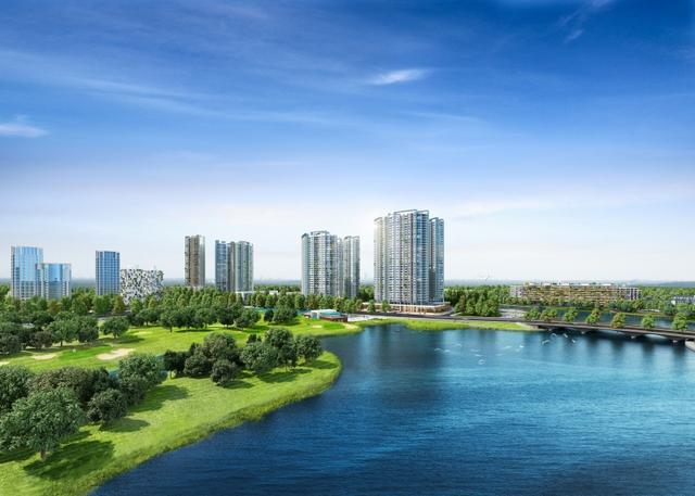 Lake 1 là dự án bất động sản đầu tiên tại miền Bắc sở hữu 100% căn hộ có view hồ.