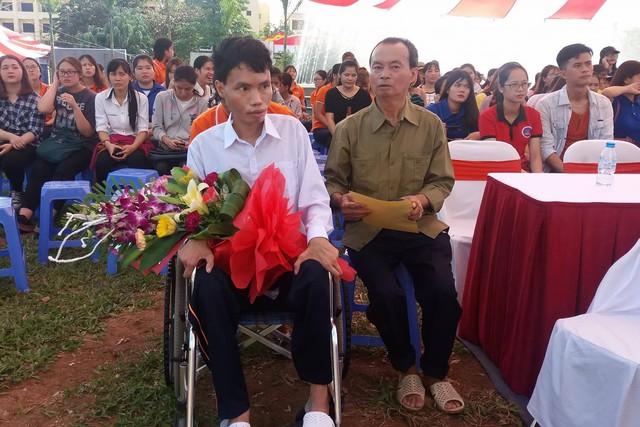 Anh Nguyễn Quang Hậu. Ảnh: Hoàng Phương