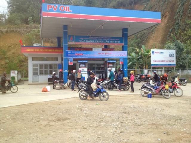 Một cửa hàng kinh doanh xăng dầu của PV Oil Hà Giang. (ảnh: HC)