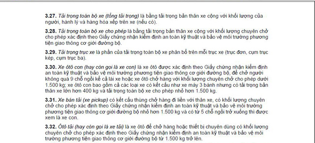 Quyết định 06/2013 của UBND TP. Hà Nội có một số nội dung mâu thuẫn với Quy chuẩn 41:2016/BGTVT