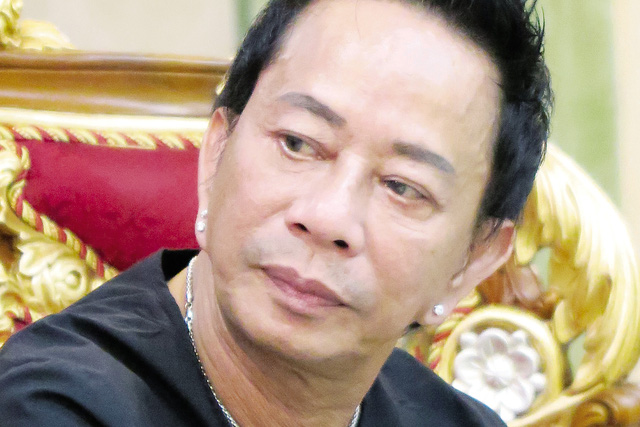 Danh hài Bảo Chung. ảnh: TL