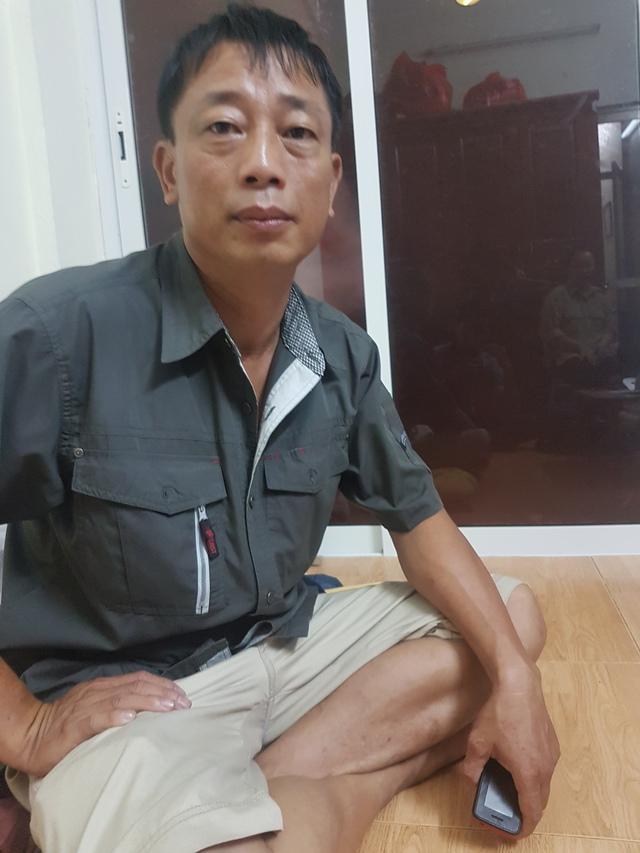 Anh Lê Trung Hạnh chia sẻ với PV Báo Gia đình & Xã hội câu chuyện buồn về người vợ.