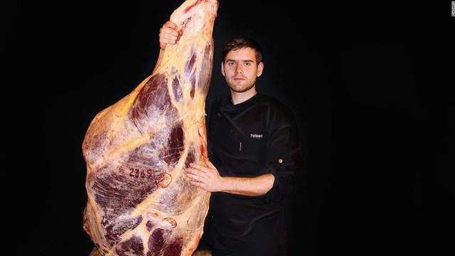 Nông dân, nhà tạo giống và người bán thịt Alexandre Polmard.
