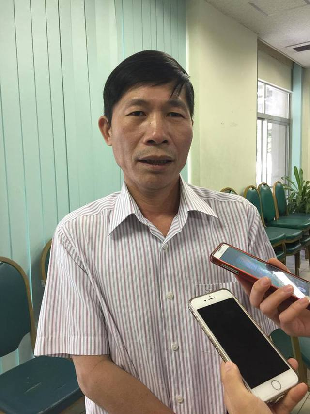 BS Hoàng Đình Khiếu – Phó Giám đốc Bệnh viện Đa khoa tỉnh Hoà Bình. Ảnh: Q.An