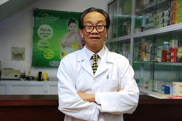 GS.BS Nguyễn Đức Vy, thầy thuốc nhân dân, cựu Chủ tịch Hội Phụ sản Việt Nam