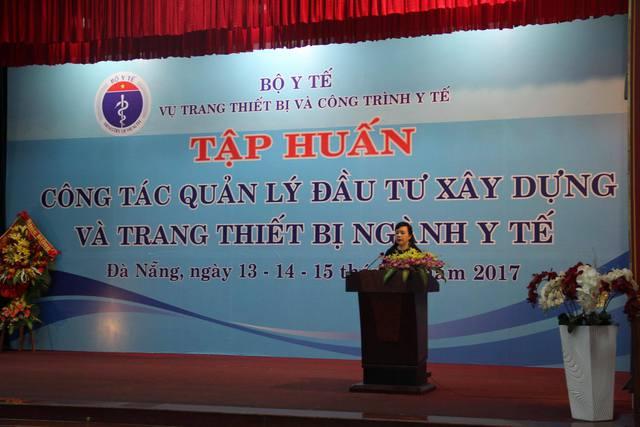 Bộ trưởng Nguyễn Thị Kim Tiến phát biểu chỉ đạo tại Hội nghị