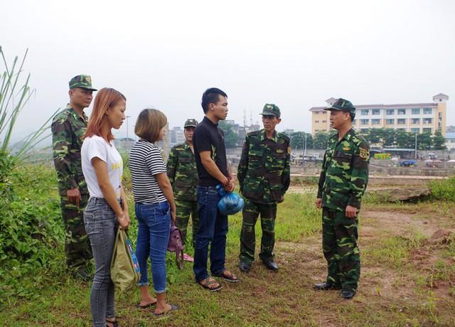 Tình trạng buôn bán phụ nữ, trẻ em qua biên giới Quảng Ninh vẫn đang nhức nhối. Ảnh: TL