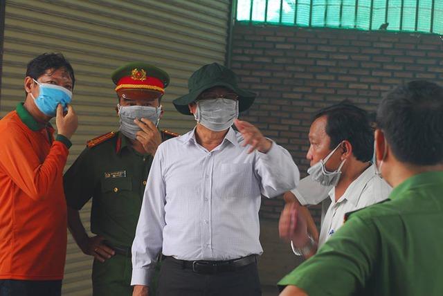 Lãnh đạo tỉnh Tiền Giang chỉ đạo tại hiện trường vụ cháy