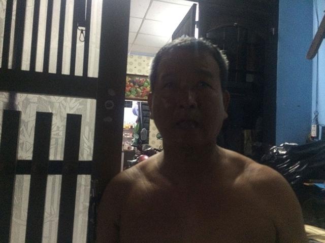 Ông Lưu Minh Thắng dù đã rất cố gắng nhưng không thể cứu được 2 nạn nhân tử vong.