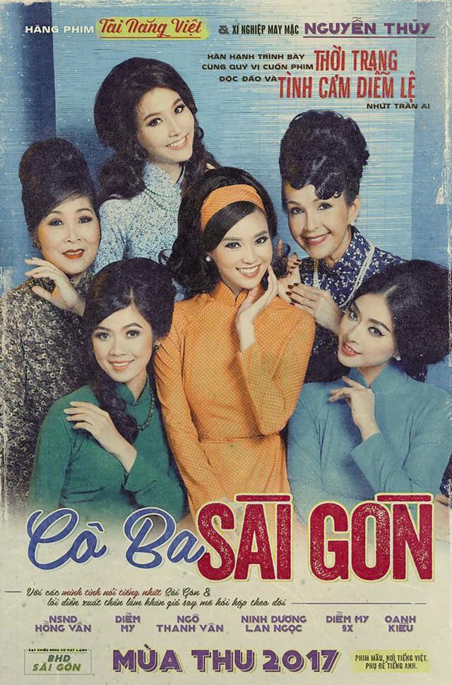 """Poster phim """"Cô Ba Sài Gòn"""". Ảnh: TL"""