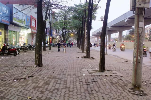 Sau khi ra quân vỉa hè của đường Hồ Tùng Mậu đã thông thoáng, không còn tình trạng lấn chiếm.