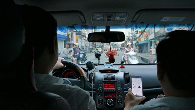 Bộ Tài chính: Không có chuyện Uber, Grab được ưu đãi thuế so với taxi truyền thống. Ảnh:PV