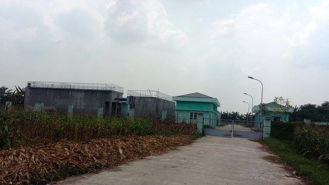 Nhà máy nước Đồng Du- nơi người dân phản ánh nước nhiễm cặn đục.
