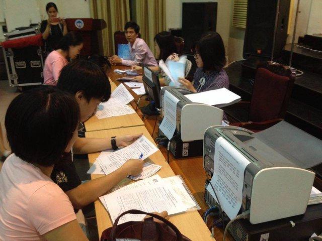 Ngoài thận trọng trong chọn trường, thí sinh cũng hết sức lưu ý trong đăng ký để tránh sai sót. Ảnh: Q.Anh