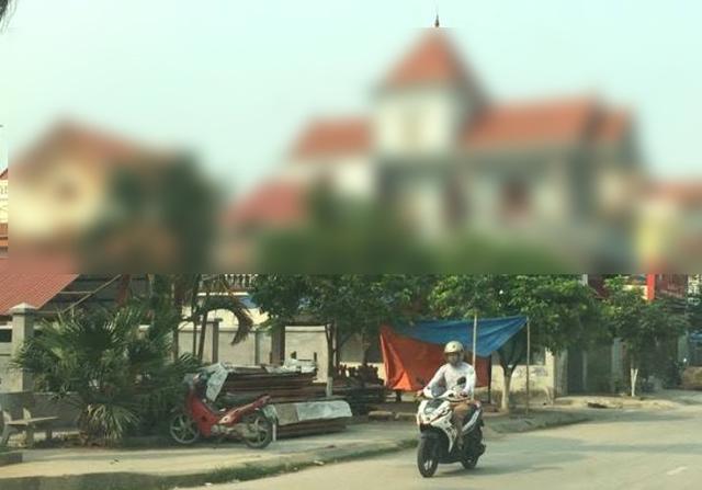 Bộ mặt làng quê Đại Hợp đã có nhiều đổi thay... Ảnh: Đức Tùy