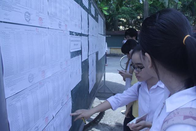 Tuyển sinh vào lớp 10 tại Hà Nội bước vào nước rút trong hai ngày 1, 2/7. Ảnh minh họa: Q.Anh