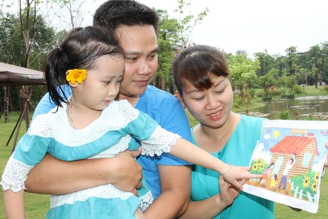 Hạnh phúc đến từ những điều giản dị nhất trong mỗi gia đình. Ảnh:Chí Cường
