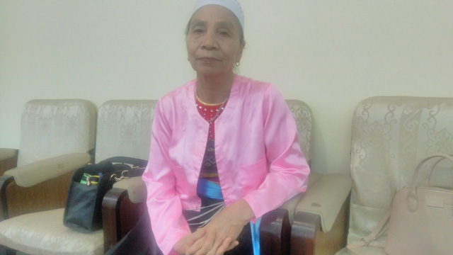 Bà Nguyễn Thị Tính.