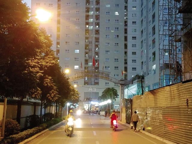 Chung cư 250 Minh Khai. ảnh: T.G