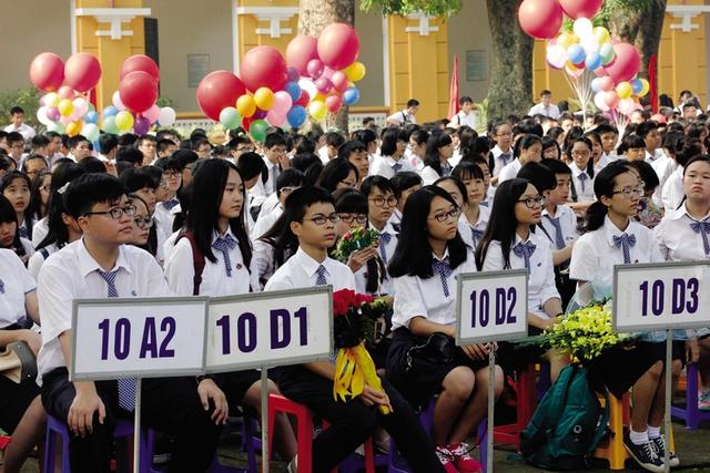 Năm nay sẽ có hơn 2 vạn học sinh tốt nghiệp THCS chuyển học trường dân lập, hệ GDTX, trường nghề. Ảnh minh họa: Q.Anh