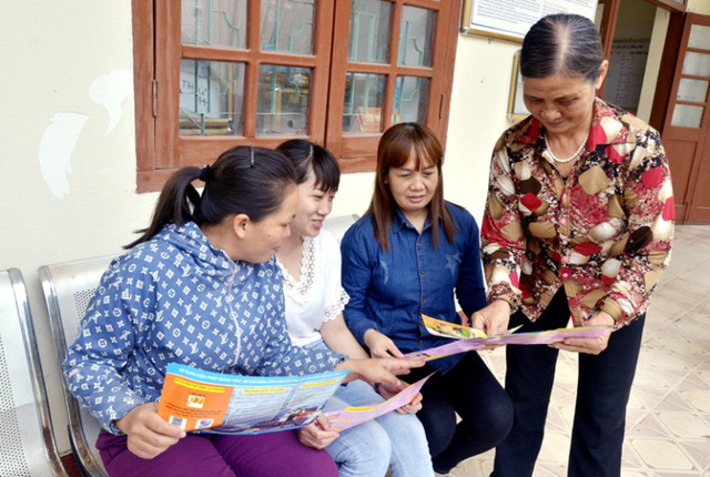 Đội ngũ làm công tác dân số cơ sở tỉnh Quảng Ninh mong được quan tâm, tạo điều kiện hơn nữa. Ảnh: TL