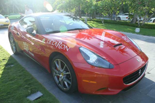 Được biết sau nhiều tháng đặt hàng từ Mỹ, cuối năm 2010, siêu xe Ferrari California của Đỗ Bình Dương đã cập cảng Hải Phòng và nhanh chóng được vận chuyển lên Hà Nội.