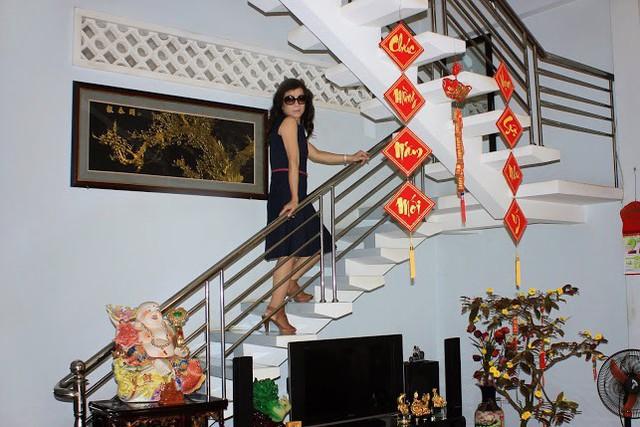 Nội thất trong căn nhà khá đơn giản vì Di Yến Quỳnh muốn mọi thứ thật nhẹ nhàng.