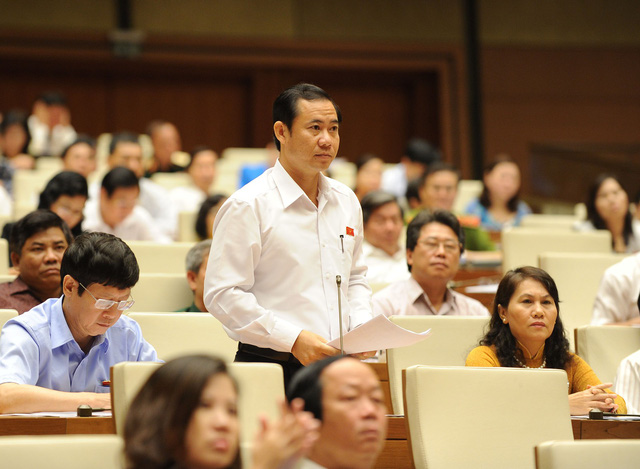 Đại biểu Nguyễn Thái Học khẳng định, đây là thời điểm chín muồi để Quốc hội ban hành cơ chế, chính sách đặc thù cho TP HCM. Ảnh: Ngọc Thắng