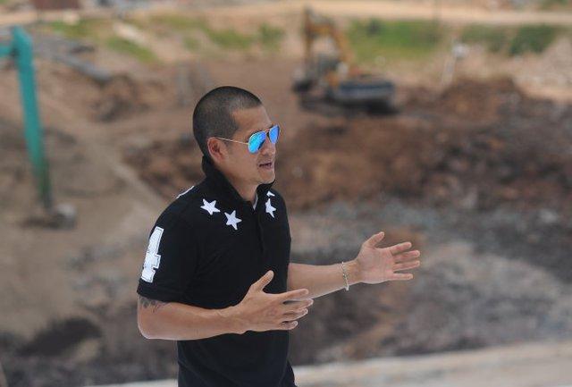 Đạo diễn Việt Tú từ những ngày đầu khởi động dự án ở Sài Sơn