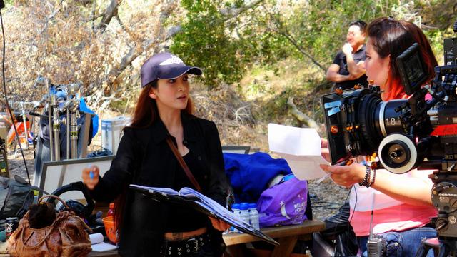 Linh Nga đang thực hiện một dự án phim tại Việt Nam và sẽ phát hành vào cuối năm 2017