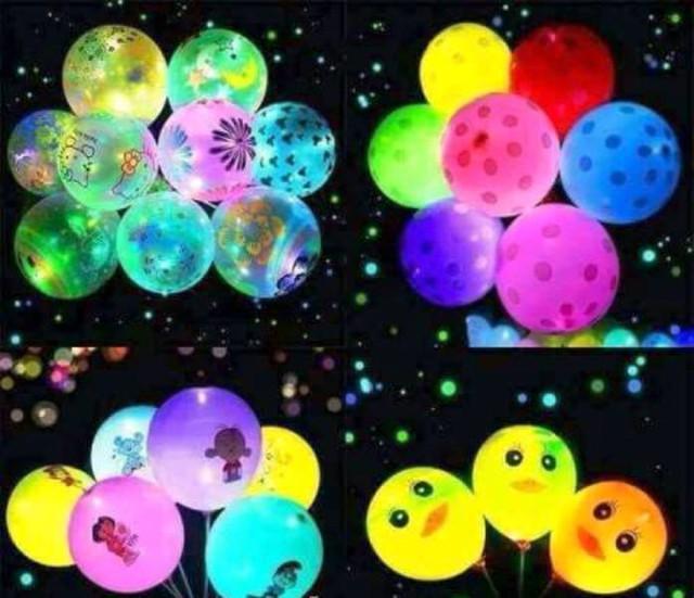 Trẻ nhỏ khi ngậm, mút, thổi bóng bay phát sáng sẽ gây ảnh hưởng đến sự phát triển thể chất và tinh thần.