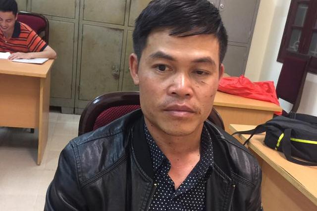 Đối tượng Quang tại cơ quan điều tra