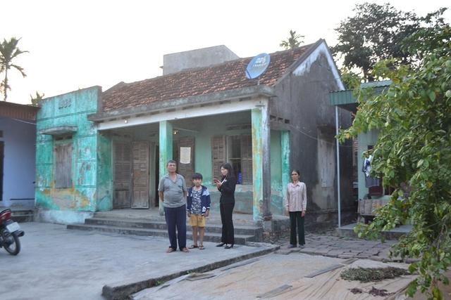 Ngôi nhà của đối tượng Nguyễn Minh Liên cách nhà Cường khoảng 5km. Ảnh: Đ.Tuỳ