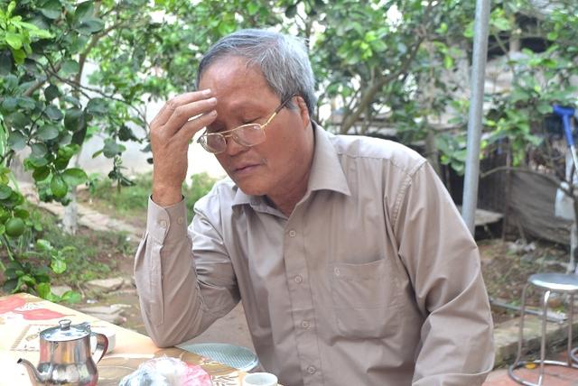 Ông Lê Đình Kênh mong muốn trừng trị thật nặng kẻ đã sát hại cháu nội. Ảnh: Đ.Tuỳ