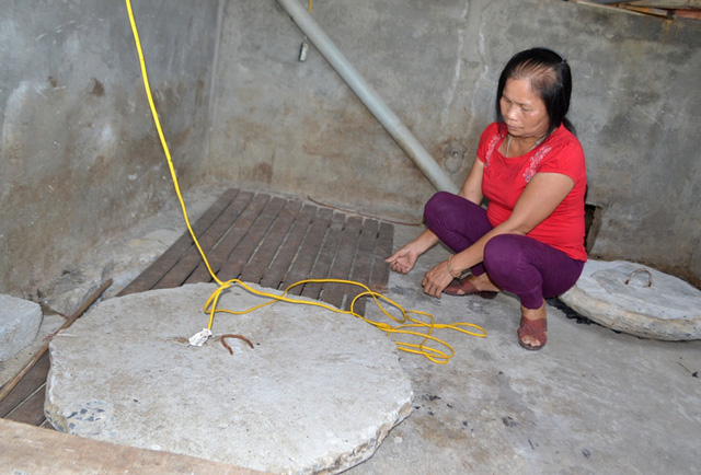 Vị trí hầm biogas cướp đi sinh mạng 3 anh em ruột vào đêm 10/5. Ảnh: Đ.Tuỳ