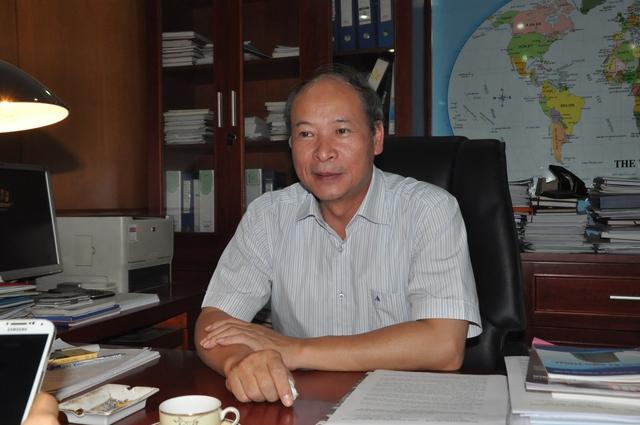 Ông Nguyễn Văn Tân, Phó Tổng cục trưởng phụ trách Tổng cục DS-KHHGĐ