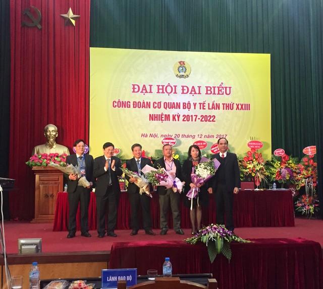 4 Đại biểu dự Đại hội Công đoàn Y tế Việt Nam nhiệm kỳ 2018-2023. Ảnh: Minh Châu