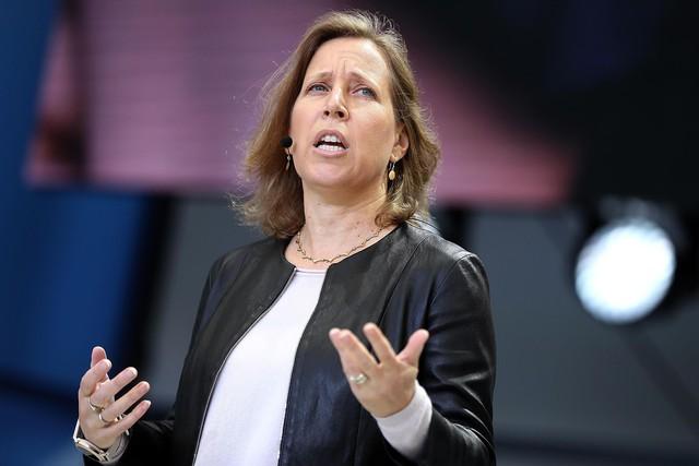 Bà Susan Wojcicki, giám đốc điều hành Youtube