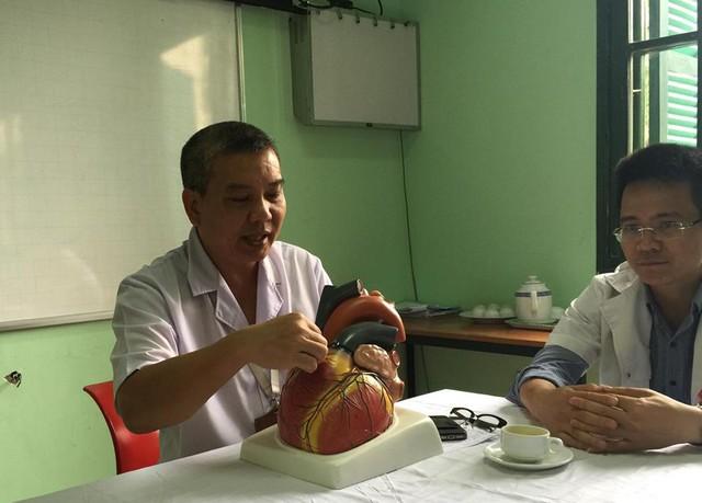 PGS.TS Nguyễn Hữu Ước chia sẻ về ca mổ.