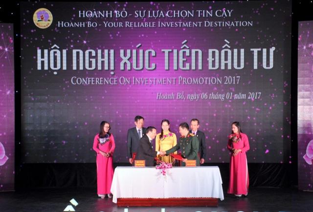 Huyện Hoành Bồ thu hút trên 5000 tỷ đồng từ các dự án. Ảnh: Đ.Tuỳ