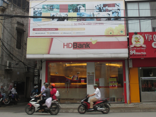 HDBank Khâm Thiên cộng thêm từ 0,2 - 0,3% cho khách hàng gửi tiết kiệm trên dưới 1 tỷ đồng so với lãi suất niêm yết.