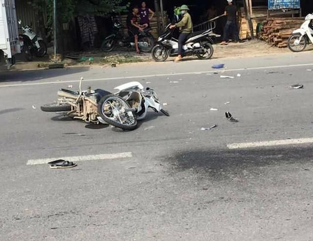 Hiện trường vụ tai nạn (ảnh tư liệu)