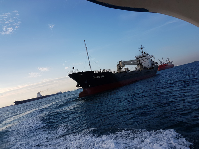 Tàu Giang Hai đã bị cướp biển tấn công ngày 19/2/2017