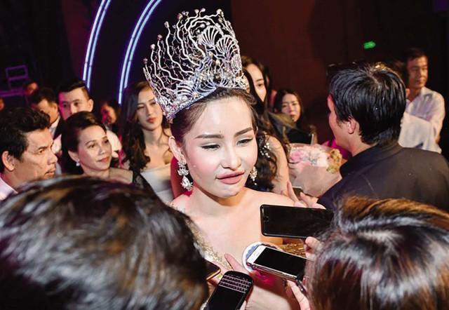 Nhan sắc gây tranh cãi của Hoa hậu Lê Âu Ngân Anh. Ảnh: TL