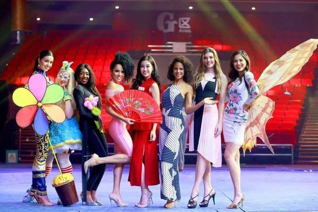 Hoa hậu Mỹ Linh tại Miss World