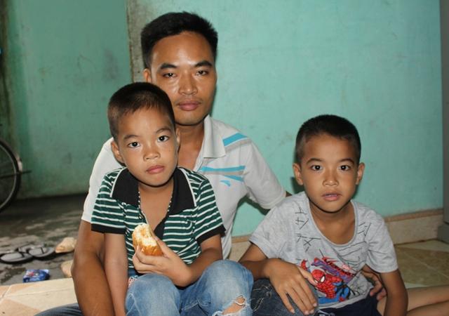 Hiện tại cuộc sống của gia đình anh Tuyền gặp rất nhiều khó khăn. Ảnh: Đ.Tuỳ