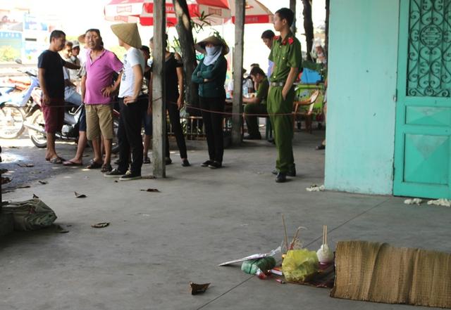 Hiện trường phát hiện thanh niên tử vong tại thôn Lai Khê, xã Cộng Hoà. Ảnh: Đ.Tuỳ
