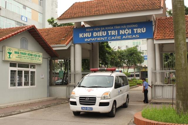 Khoa Nội 4 nằm trong khu điều trị nội trú của Bệnh viện Đa khoa tỉnh Hải Dương. Ảnh: Đ.Tùy